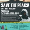 Save the Peaks March, Rally & Vigil
