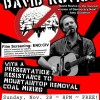 This Sunday: David Rovics & Mtn Top Removal Resistance