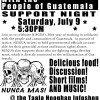 EVENT: Network in Solidarity with the People of Guatemala