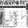 Infoshop March 2012 Events Calendar