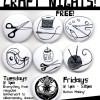 Radical D.I.Y. Crafting Tuesdays & Fridays