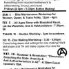TAALA HOOGHAN INFOSHOP MARCH EVENTS CALENDAR 2013
