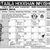 Táala Hooghan Infoshop February 2014 Events
