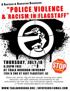 police violence-flagstaff